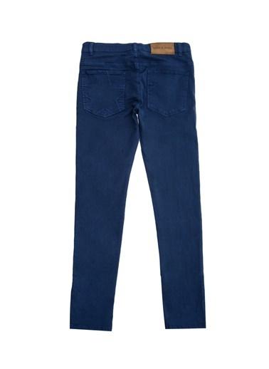 Asymmetry Pantolon Mavi